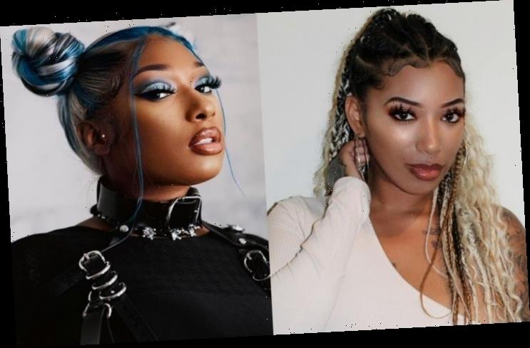 Kelsey Hits Back at Megan Thee Stallion's Friend Who Accuses Her of Being Paid to Keep Silent