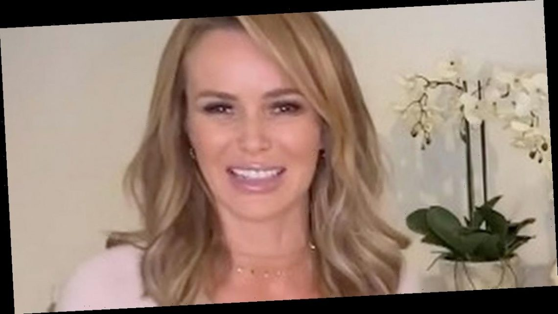 Amanda Holden looks completely different in glamorous witch Halloween costume