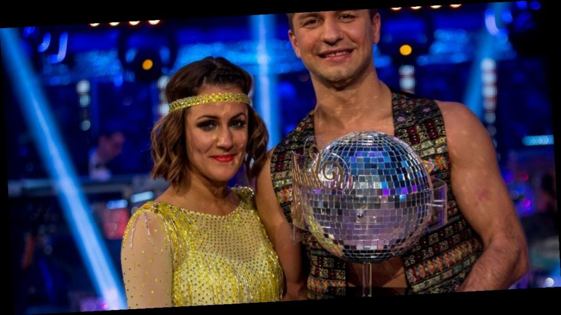 First look at emotional Caroline Flack Strictly tribute leaving stars in tears