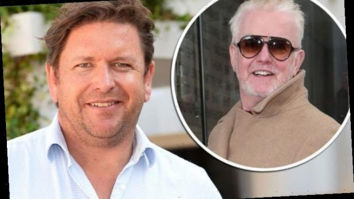 James Martin: Chef claims Chris Evans 'made him' drink alcohol 'Don't feel comfortable'
