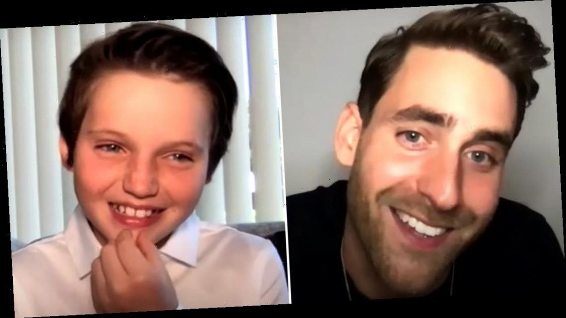 See Oliver Jackson-Cohen Stump His 12-Year-Old Bly Manor Costar With a Nostalgic '90s Quiz
