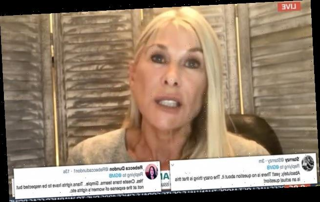 Sharron Davies praises decision to ban trans women from elite rugby