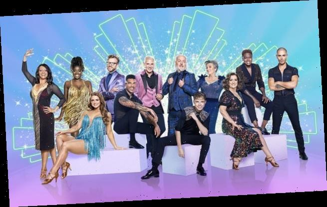Strictly: Maisie, Jamie and Clara lead stars in first  group photo