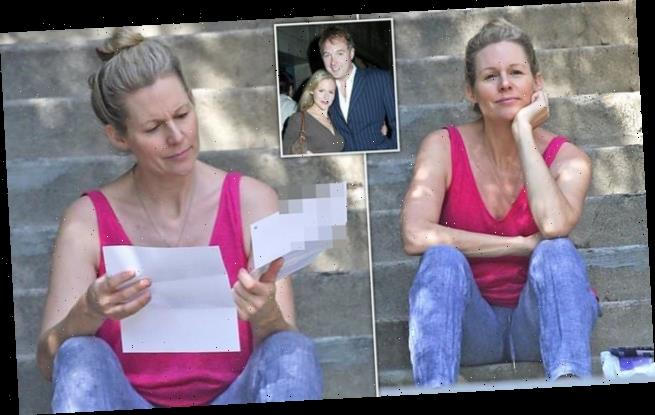Abi Titmuss is seen out for the first time in two years in LA