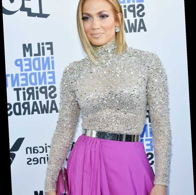 Jennifer Lopez Got Shaggy Curtain Bangs & It's One Of Fall's Hottest Hair Trends