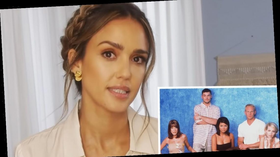 Jessica Alba Says She Was Not Allowed To Make Eye Contact With Beverly Hills, 90210 Cast