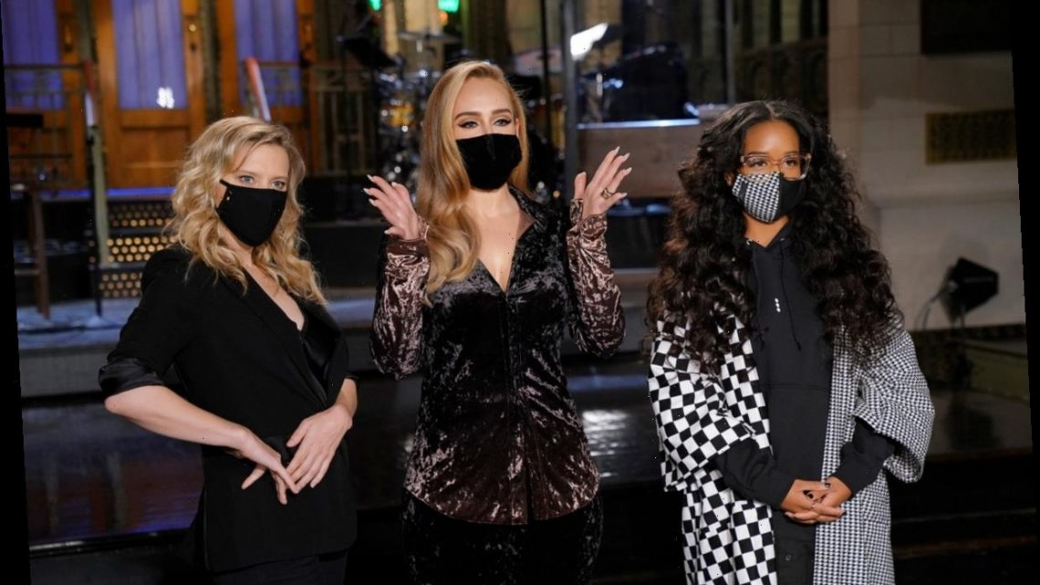 Adele Talks New Album, Weight Loss, Flexes Her Pipes in 'SNL' Hosting Debut