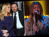 Kelly Clarkson gets emotional as she covers Aerosmith's song Cryin' after filing for divorce with Brandon Blackstock