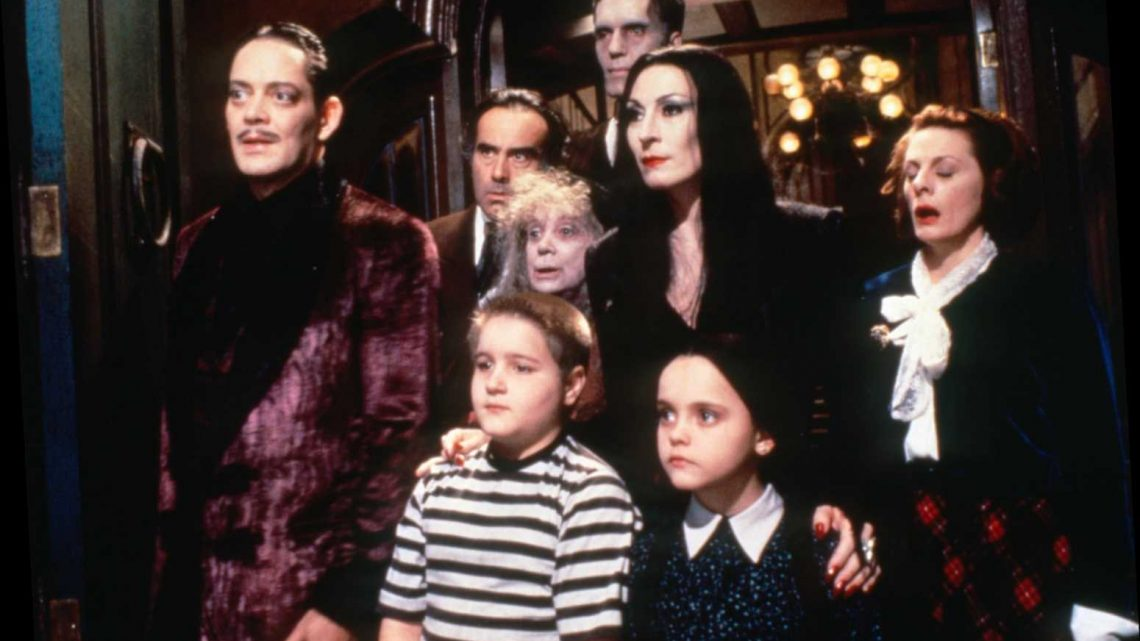 Tim Burton Eyes 'Addams Family' Live-Action TV Series Told from Wednesday's POV