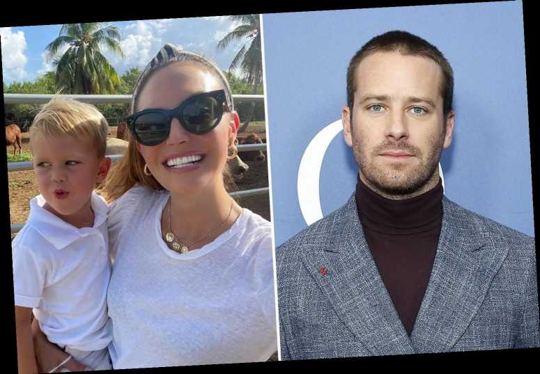 Armie Hammer demands ex-wife Elizabeth Chambers bring their kids back to the US in nasty divorce