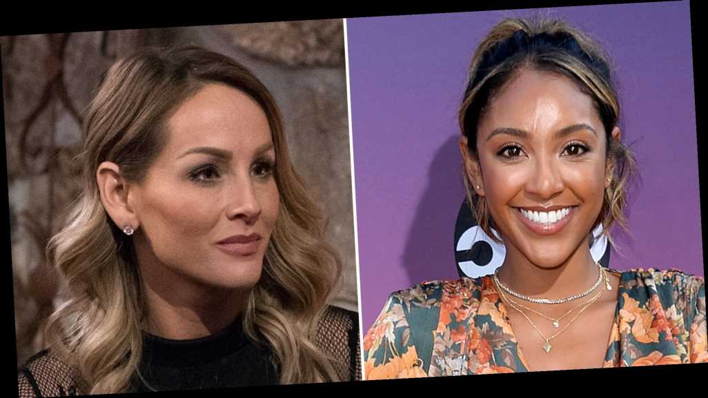 Tayshia Adams Makes Her 'Bachelorette' Debut as Clare's Replacement