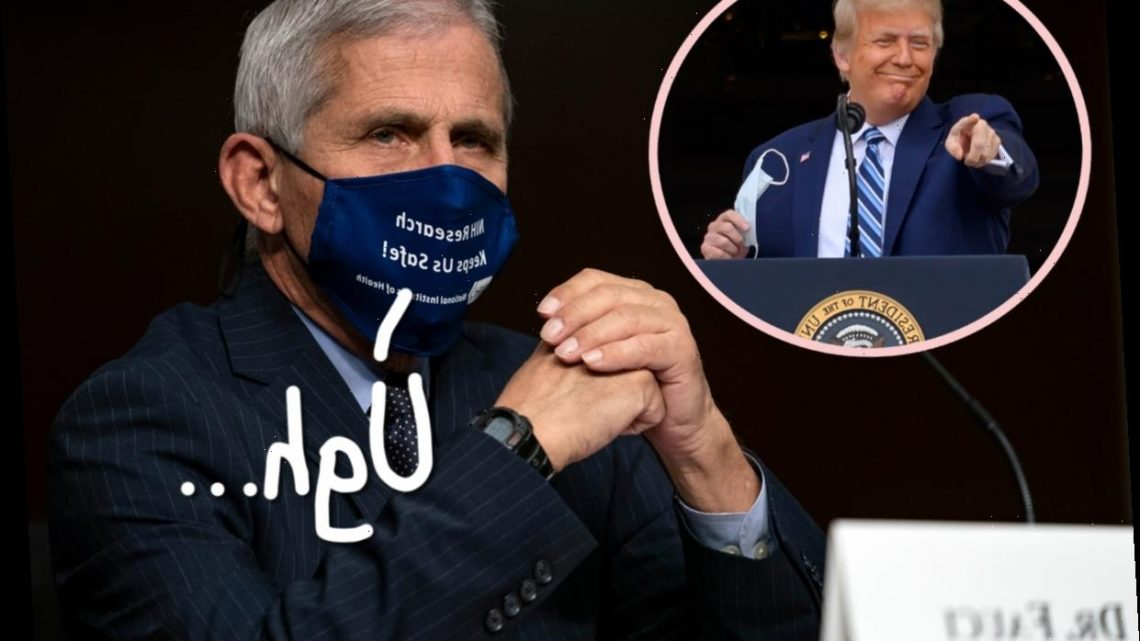 Ridiculously Misleading Trump Campaign Ad On Coronavirus Response Misquotes Fauci – And The Doctor Is Pissed!