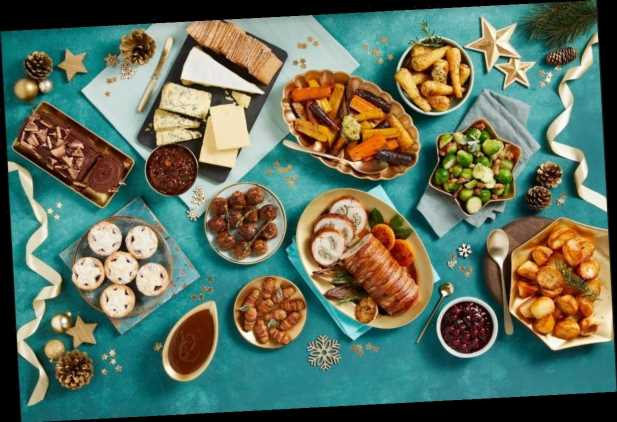 Morrisons is launching a Christmas dinner box for four for £50