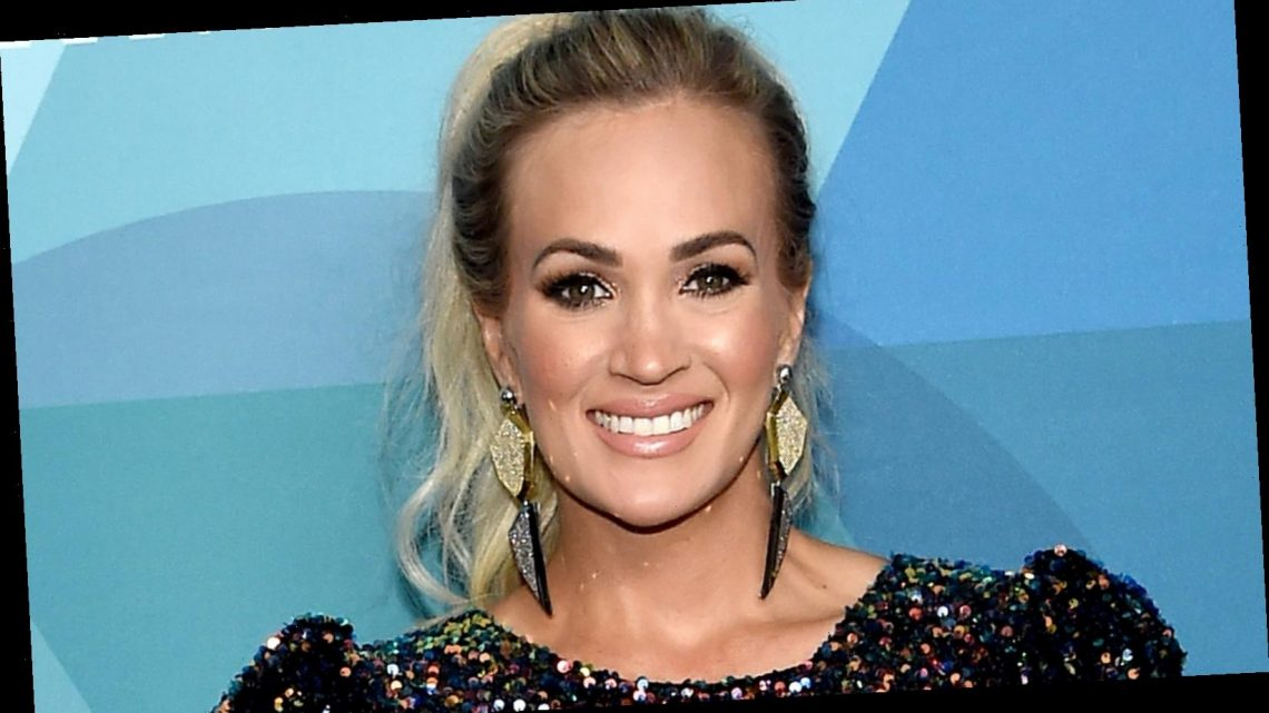 Carrie Underwood on who 'smacked her rear' at the Grand Ole Opry
