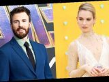 Lily James Refuses To Address Chris Evans Romance Rumors 3 Mos. After They Were Spotted Together