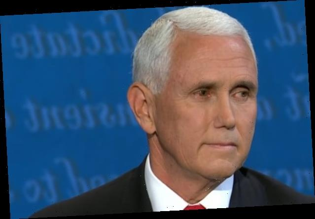 People Want to Know What Was Up With Mike Pence's Eye During the Debate