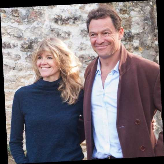 """Dominic West and Wife Catherine FitzGerald Say They're """"Still Together"""" Despite Those Lily James Photos"""