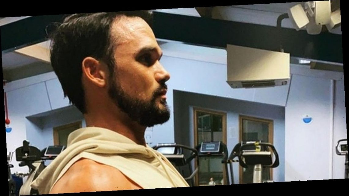 Gareth Gates talks hunky body transformation as he shows off rippling abs
