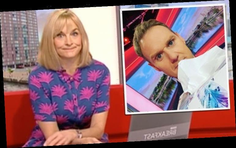 Dan Walker apologises for interrupting Louise Minchin on BBC Breakfast amid text from wife