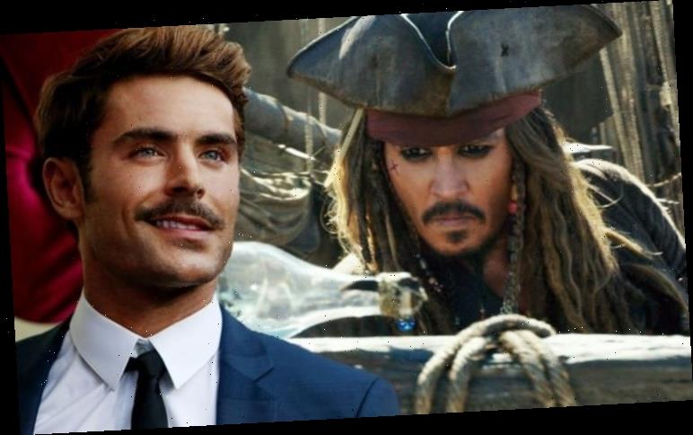 Pirates of the Caribbean: Johnny Depp 'to be replaced' by Zac Efron in PREQUEL movie