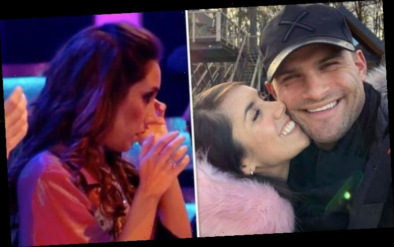 Janette Manrara pines for husband Aljaz after exit leaves her in tears 'Sad to say bye'