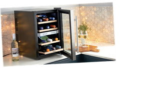 Aldi have launched their new kitchen range including a stylish wine fridge for £60
