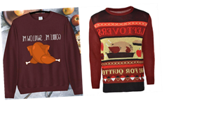 Ugly Thanksgiving Sweaters For 2020 Exist & You'll Want To Gobble Them Up