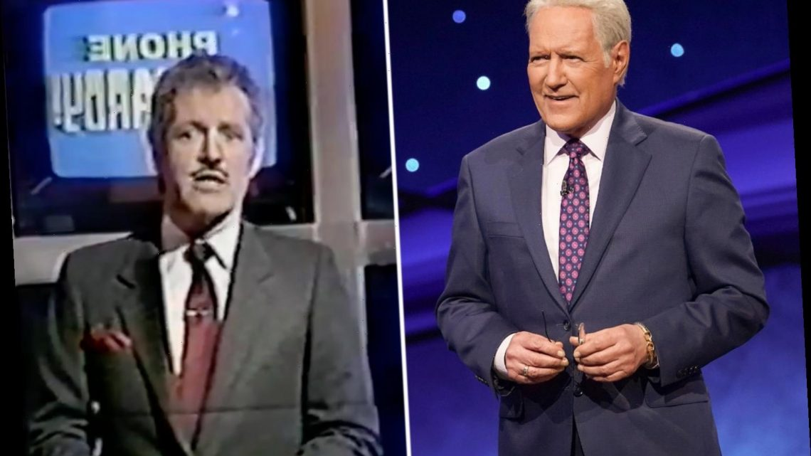 Jeopardy! fans thrilled to see late host Alex Trebek cursing in rare vintage video of show outtakes days after his death