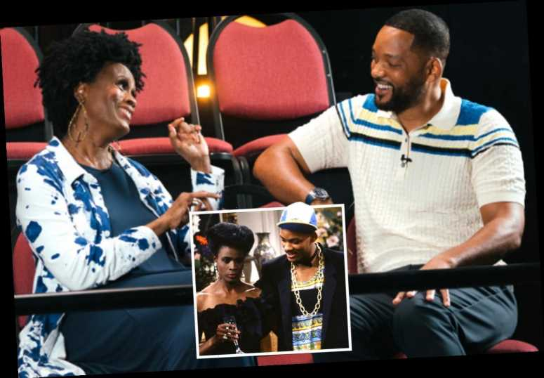 Will Smith buries bitter 27-year feud with his Fresh Prince costar Janet Hubert in emotional show reunion – The Sun