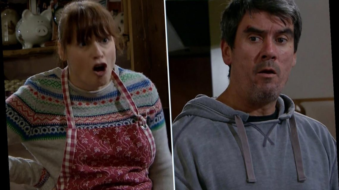 Emmerdale fans cheer as Lydia puts Cain Dingle in his place for risking Sam's life