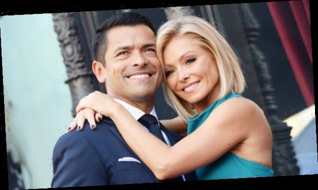 Kelly Ripa Gushes Over Shirtless Pic Of Mark Consuelos 3 Weeks After Her Photo Of His Tight Pants Goes Viral