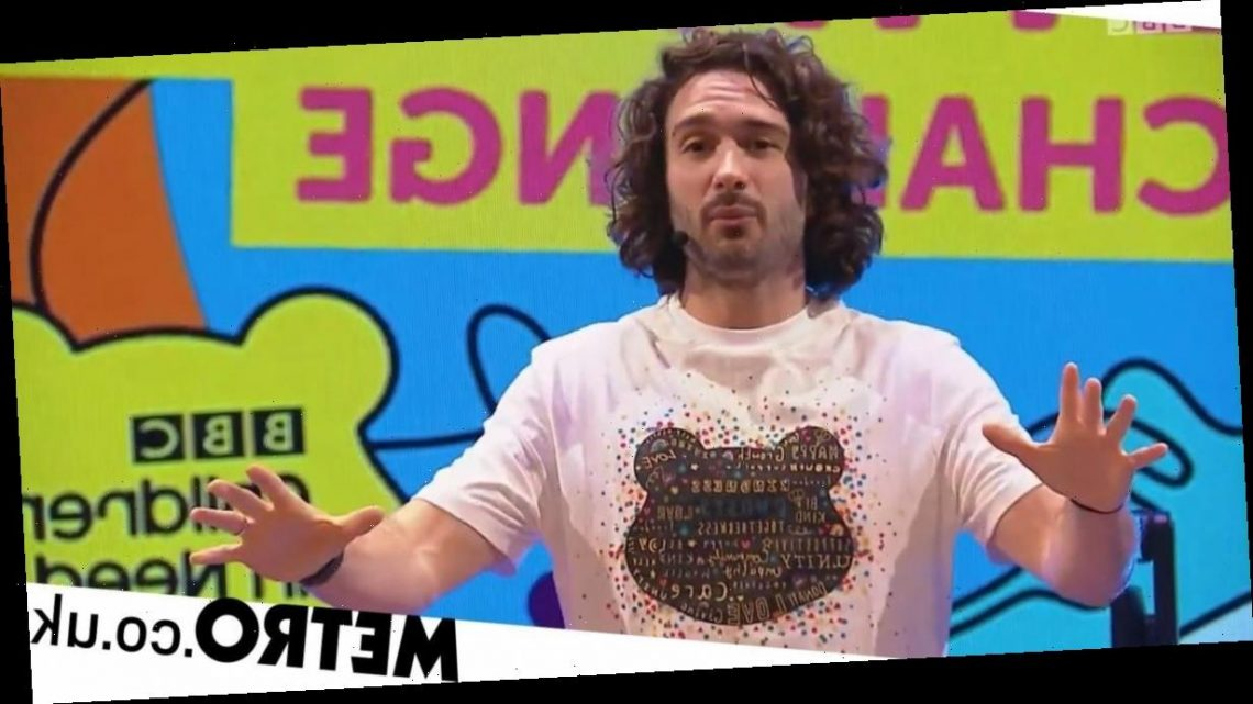 Joe Wicks raises over £2m for Children In Need after 24-hour workout