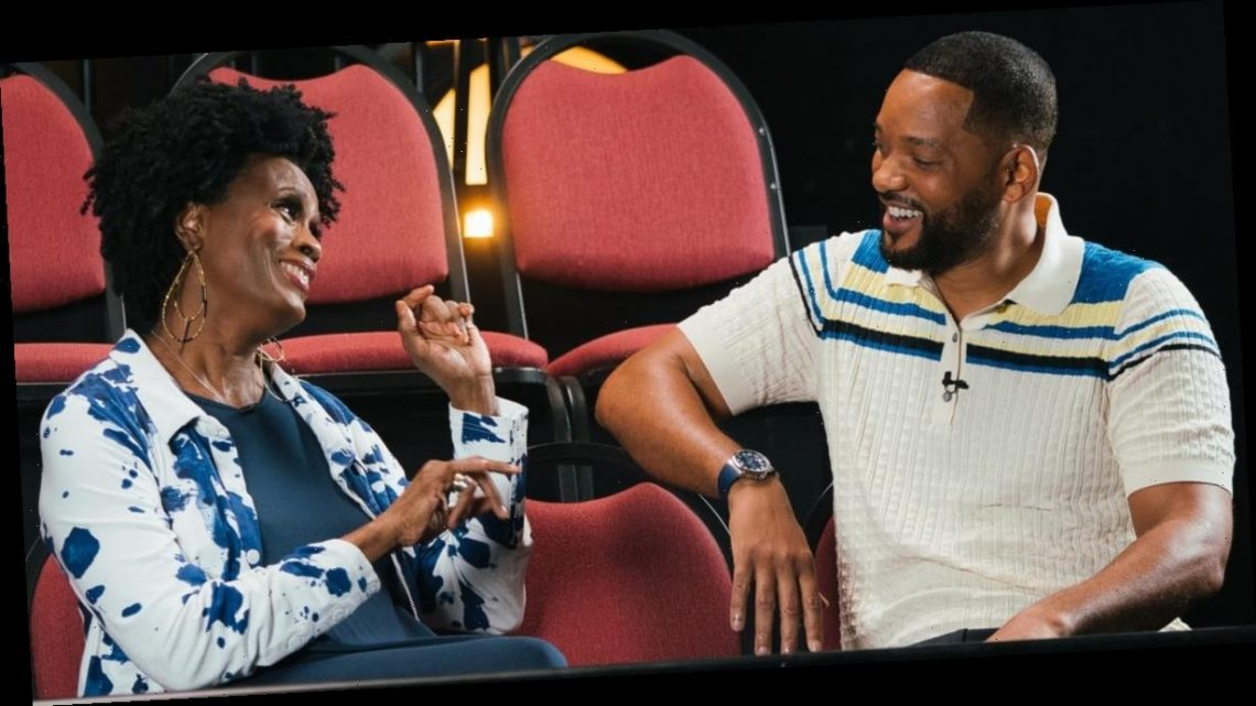 "Will Smith and Janet Hubert Reconcile During Fresh Prince Reunion: ""You're Still My Aunt Viv"""