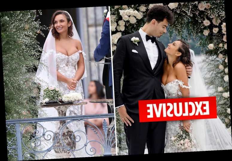 Geordie Shore's Elettra Lamborghini reveals she 'cried all the time' during her magical Italian wedding to DJ Afrojack
