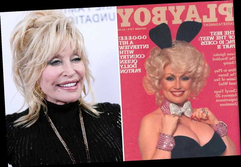 Playboy 'wants Dolly Parton to pose on cover for her 75th birthday' over 40 years after she first modeled for magazine