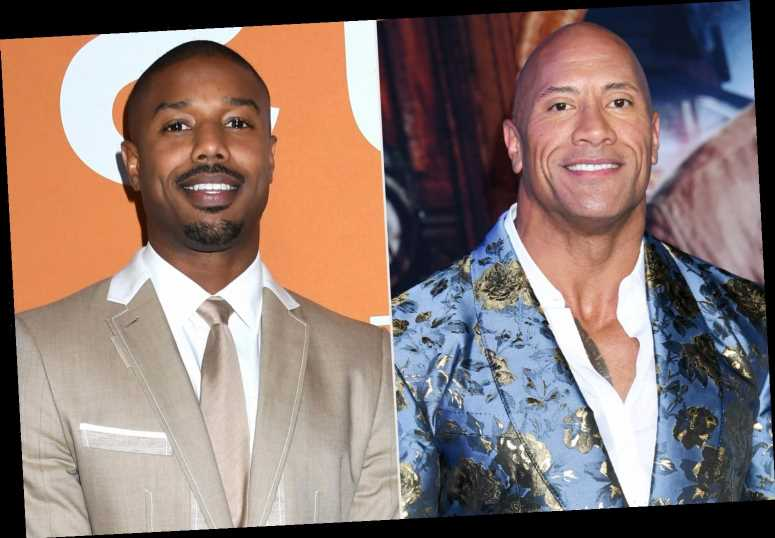 Dwayne Johnson Jokingly Says He Doesn't 'Concede' the Sexiest Man Alive Title to Michael B. Jordan