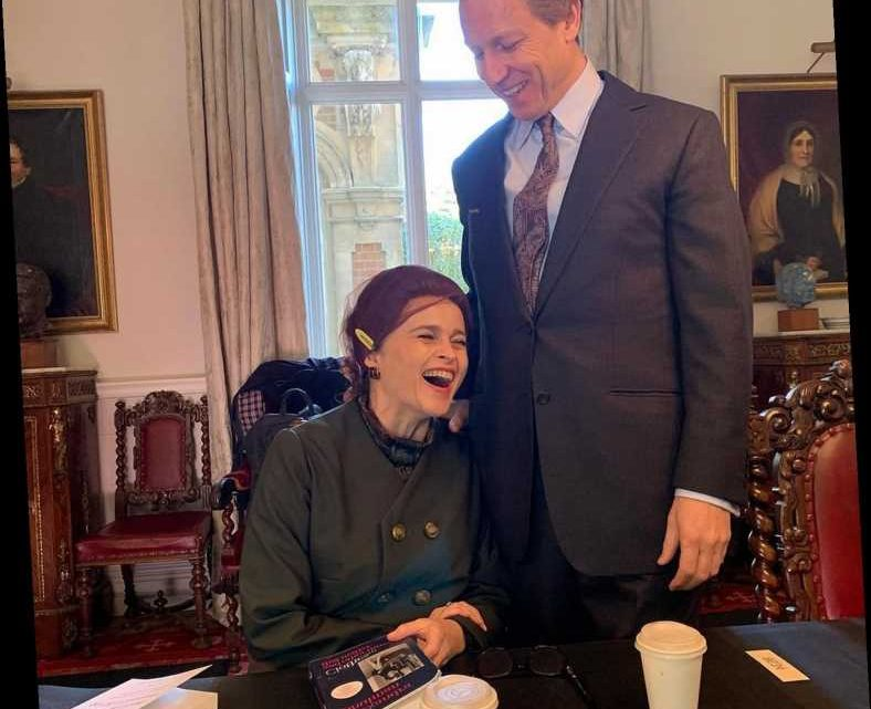 Princess Margaret and Prince Philip Share a Laugh — and More Behind-the-Scenes Snaps from The Crown