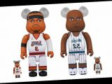 Medicom Toy Immortalizes Shaq and Allen Iverson in BE@RBRICK-Form