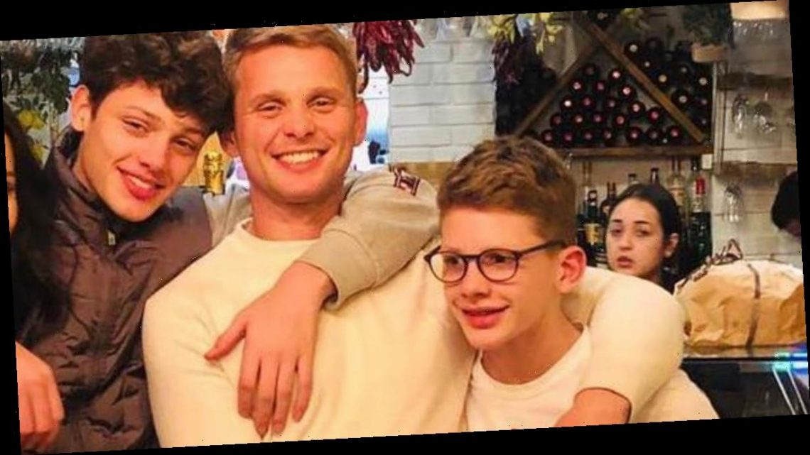 Jeff Brazier tells sons he wants ashes spread on 'special' shipwrecked island