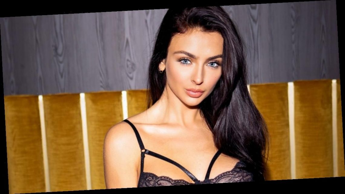 Kady McDermott wows Love Island fans as she strips to lingerie and suspenders
