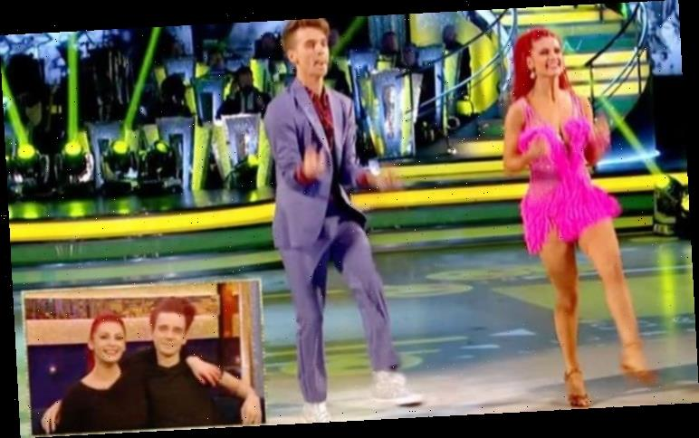 Strictly's Joe Suggs and Dianne Buswell surprise school kids with dance lessons