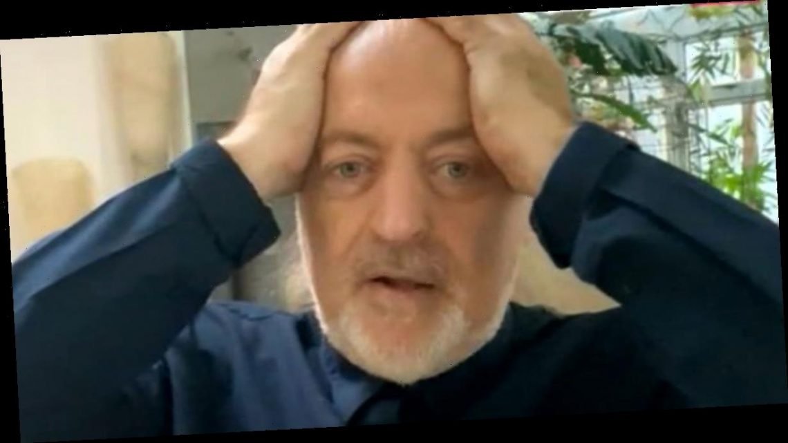 Strictly champ Bill Bailey says he 'almost set fire to studio' in finale mishap