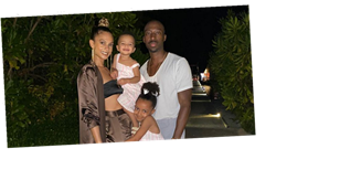 Inside Alesha Dixon's husband's surprise 40th birthday party in the Maldives as they share family snap