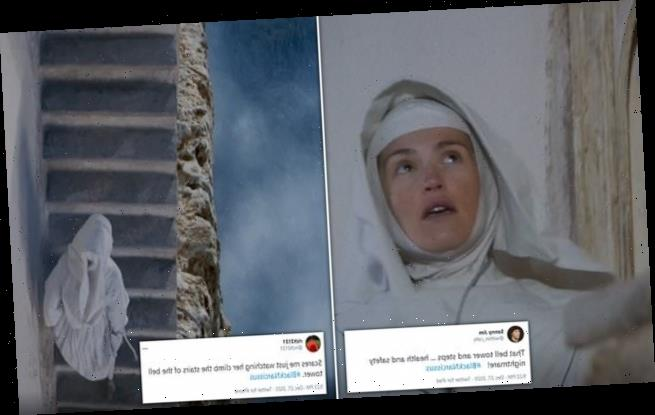 Black Narcissus viewers scared by 'deadly' staircase in first episode