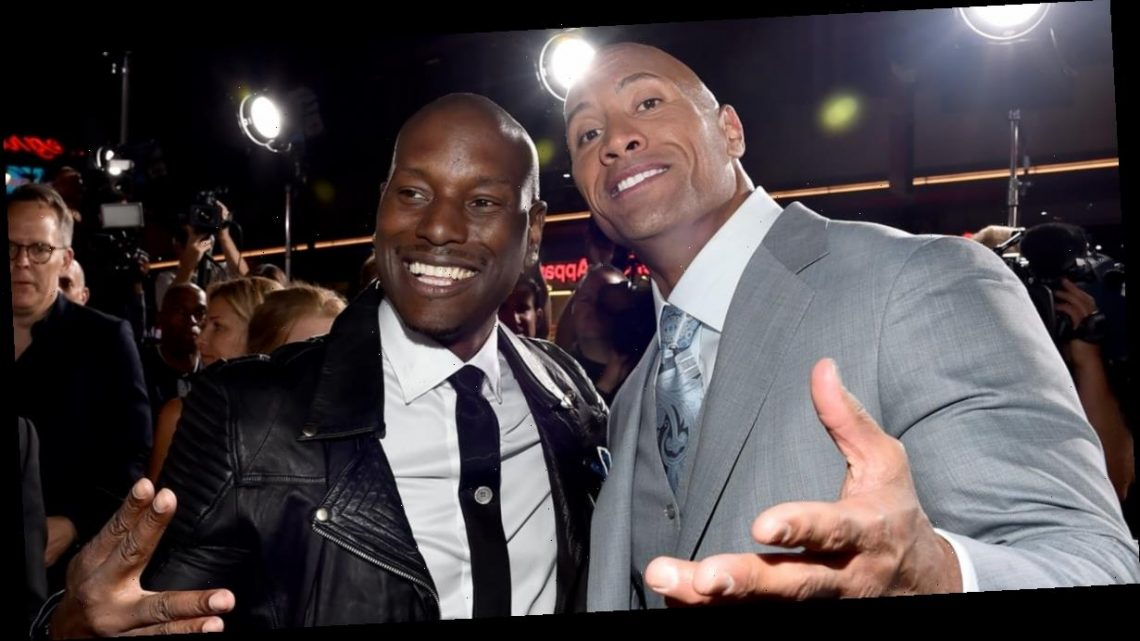 """Dwayne Johnson and Tyrese's Fast & Furious Feud Is Finally Over: """"[We] Peaced Up"""""""