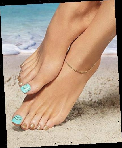 Press on toenails exist, have you heard about this and would you try them?