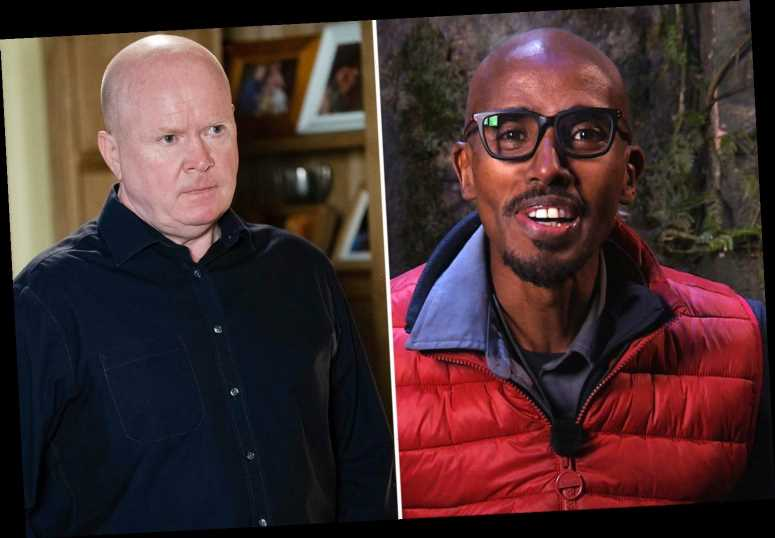 EastEnders writer wants Mo Farah for cameo in the soap after impression of Phil Mitchell on I'm A Celebrity