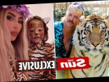 Joe Exotic pens desperate letter to Kim Kardashian urging her to ask Donald Trump to pardon him as he languishes in jail