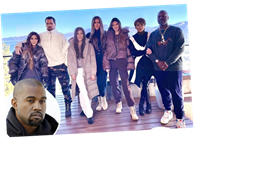 Kim Kardashian shares sweet photo from big family holiday trip to Tahoe – but troubled Kanye West is missing from pic