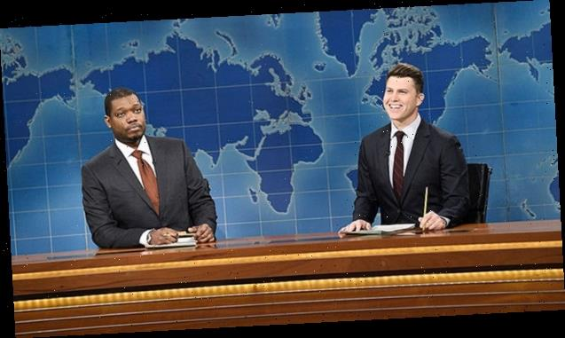 Colin Jost Recaps Donald Trump's Most Hilarious Presidential Moments On 'SNL's Weekend Update — Watch